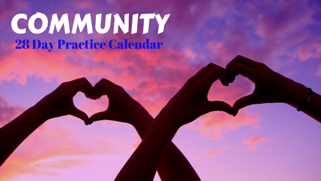 COMMUNITY = Commune + Unity
