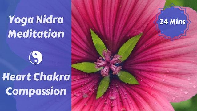 Yoga Nidra for Compassion   Heart Chakra