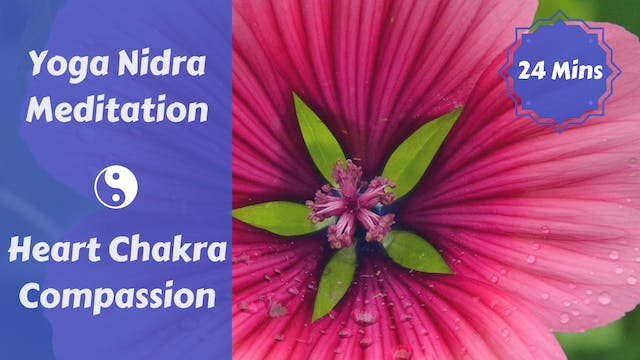 Yoga Nidra for Compassion | Heart Chakra
