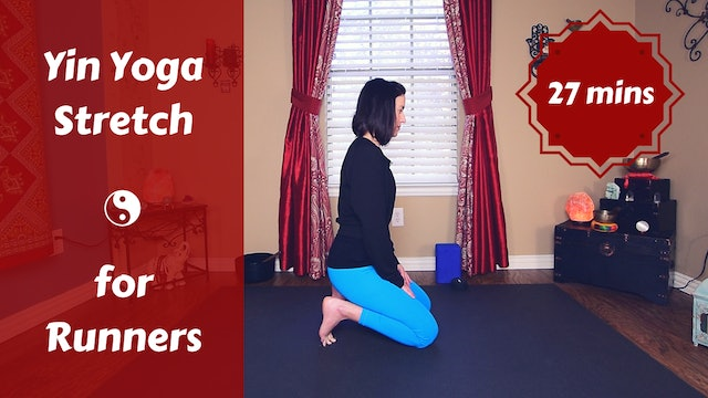 Post Run Yin Yoga for Runners & Athletes