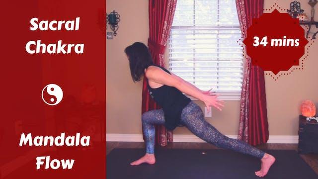 Sacral Chakra Mandala Yoga Flow