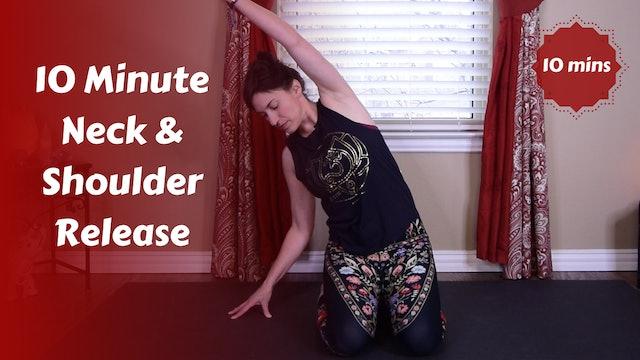 10 Min Neck & Shoulder Yoga Stretch