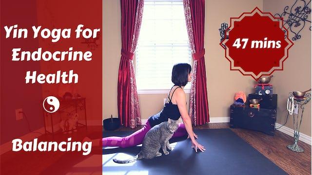 Yin Yoga for Endocrine Health | Balancing Your Hormones
