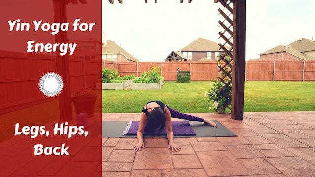 Yin Yoga for Energy Balance