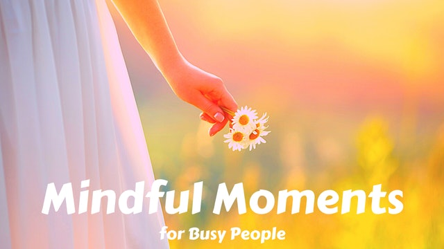 Mindful Moments for Busy People