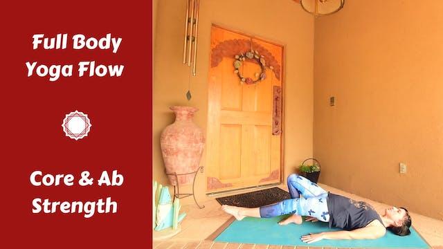 Full Body Yoga Flow for Deep Core Str...