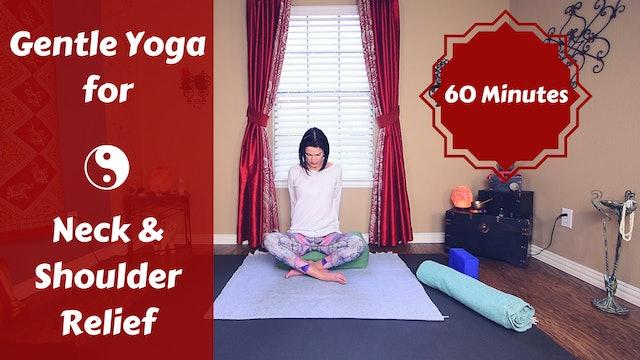 Restorative Yoga for Neck  & Shoulder Relief