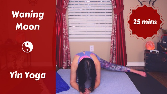 Waning Moon Lunar Yin Yoga | Release & Let Go