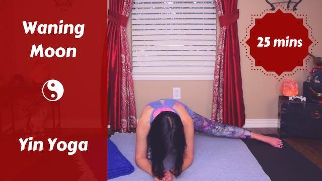 Waning Moon Lunar Yin Yoga | Release ...