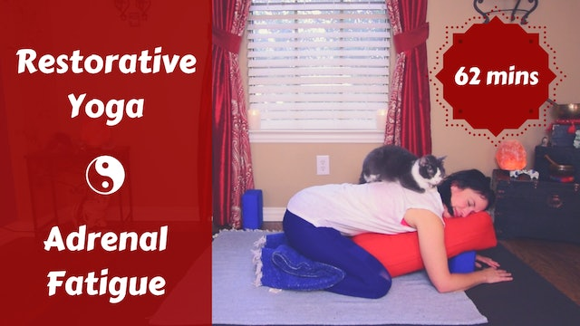 Restorative Yoga for Adrenal Fatigue | Soulful Rest