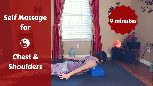 Myofascial Release for Chest & Shoulders
