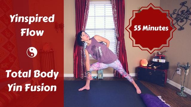 Yinspired Full Body Flow for Hips, Glutes & Psoas | Yin Yoga Fusion