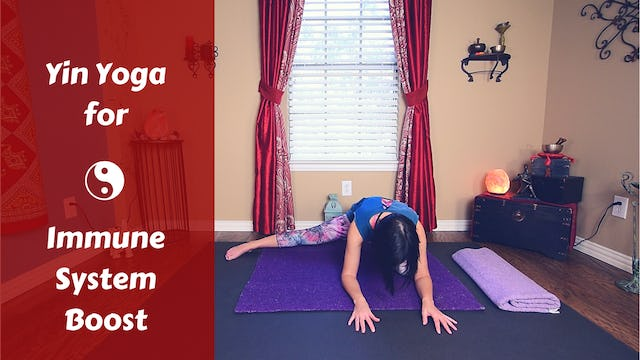 Yin Yoga for Immune System Boost