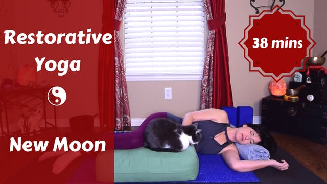 Restorative Yoga for New Moon | Reset
