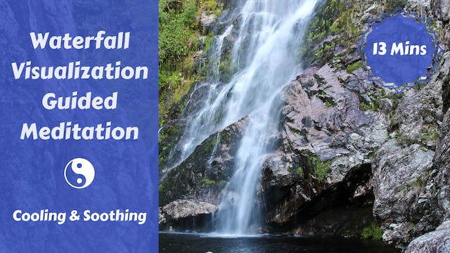 Waterfall Meditation with Sitali Cool...