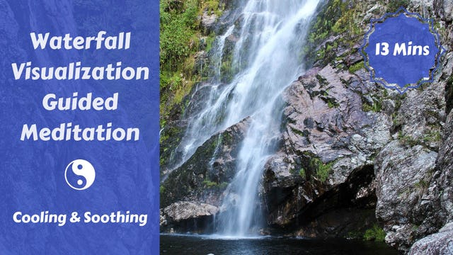 Waterfall Meditation with Sitali Cooling Breath