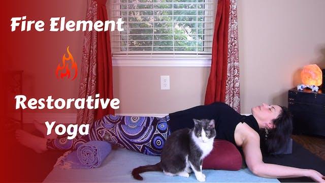 Fire Element Restorative Yoga