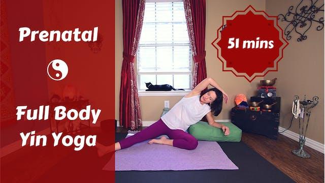Prenatal Full Body Yin Yoga