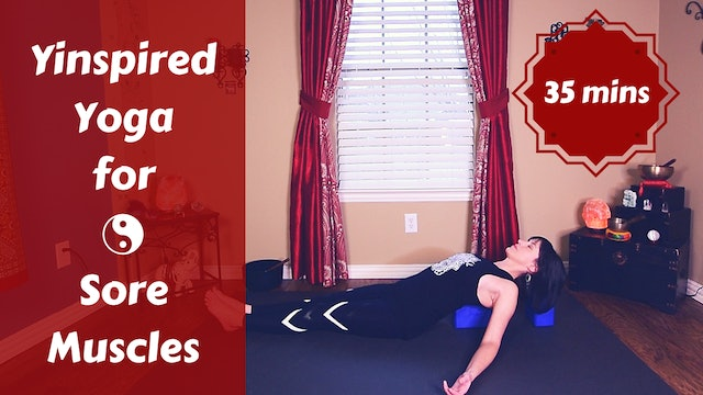 Yinspired Yoga for Sore & Tired Muscles | Full Body Yin Yoga Flow Fusion