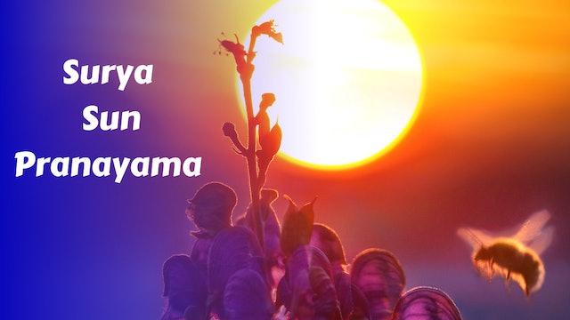 Surya Bhedana   Solar Pranayama