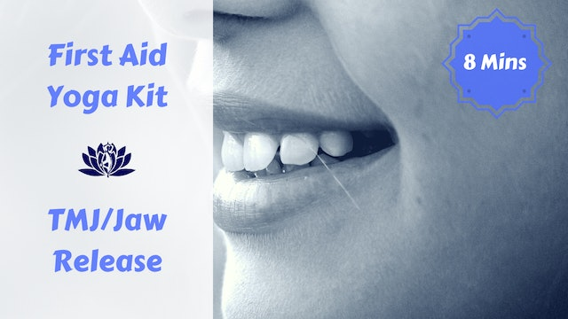 First Aid Yoga Kit | TMJ & Jaw Release