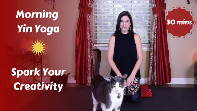 Morning Yin Yoga to Spark Your Creativity