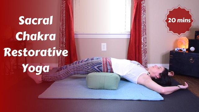 Sacral Chakra Restorative Yoga Snack