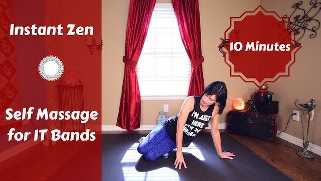 Myofascial Release for IT Bands & Outer Hip