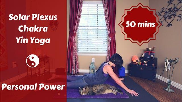 Solar Plexus Chakra Yin Yoga | Person...