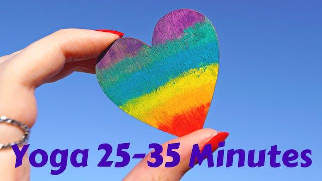 Yoga 25-35 Minutes