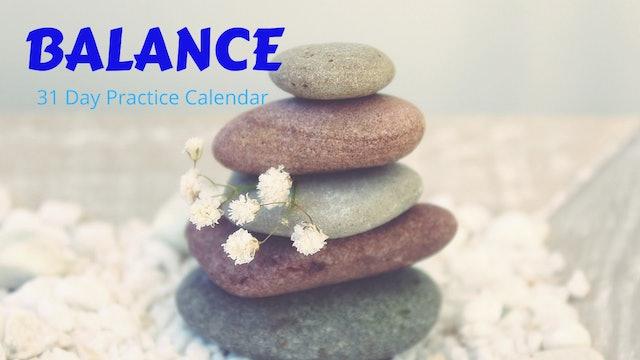 BALANCE Practice Calendar   Oct. '20