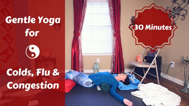 Restorative Yoga for Colds & Flu