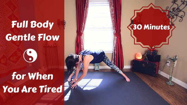Gentle Yoga Flow for When You Are Tired