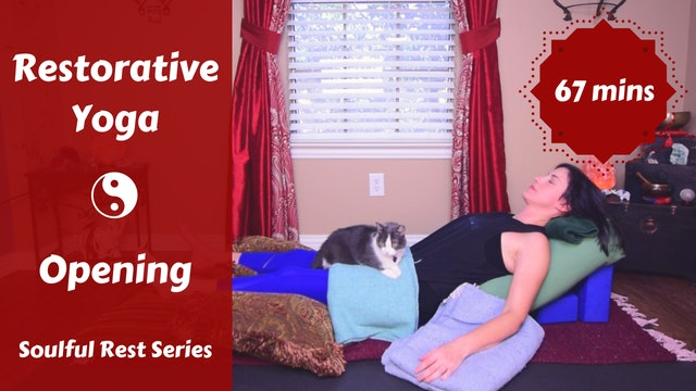 Soulful Rest Restorative Yoga | OPENING