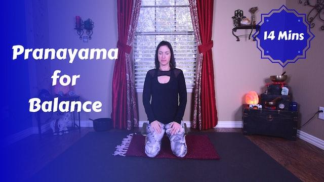 Pranayama for Balance