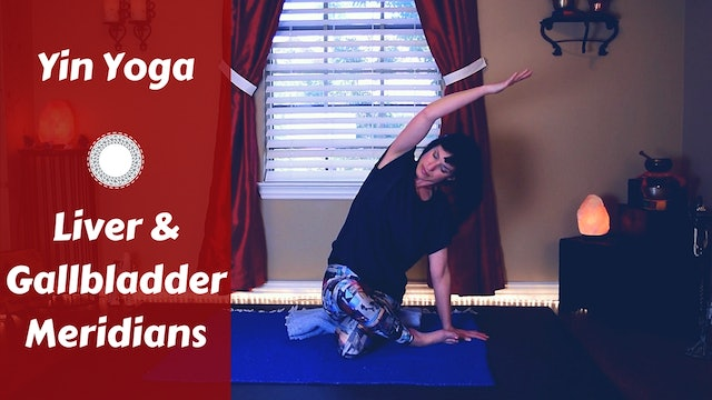 Yin Yoga for Liver & Gallbladder Meridians | Detox