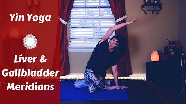 Yin Yoga for Liver & Gallbladder Meridians