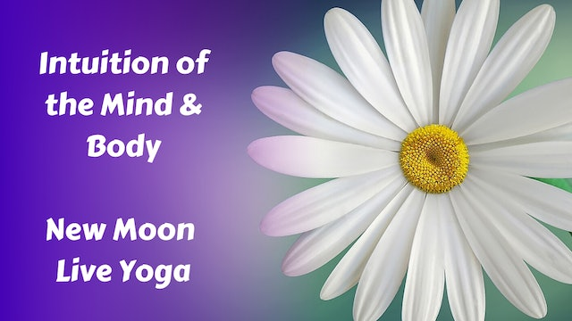 New Moon Restorative Yoga - Intuition of Mind/Body