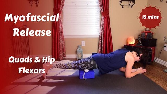 Myofascial Release for Quads Hip Flexors & Psoas