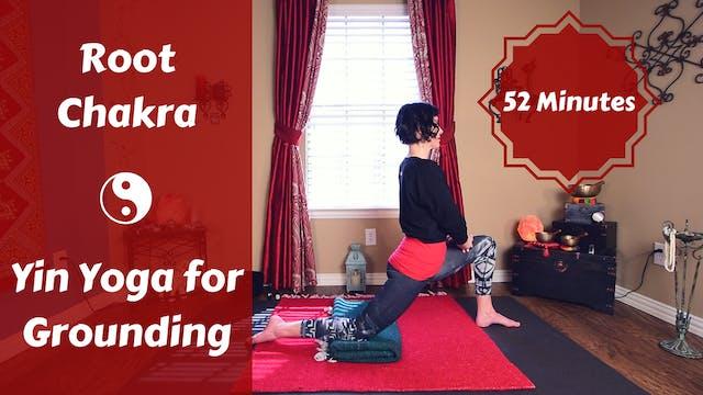 Root Chakra Yin Yoga | Grounding & Su...