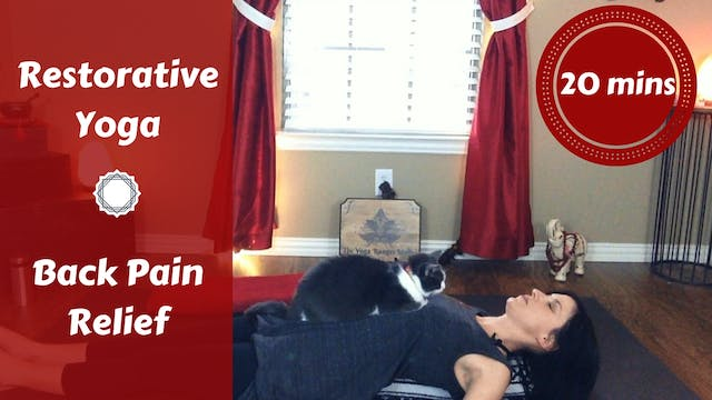 Gentle Restorative Yoga for Back Pain