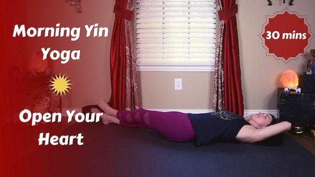 Morning Yin Yoga for an Open Heart