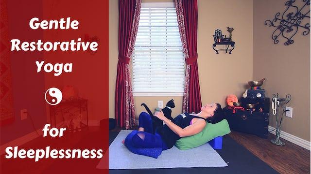 Gentle Restorative Yoga for Insomnia