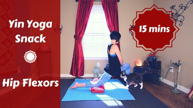 Yin Yoga Snack for Hips and Hip Flexors