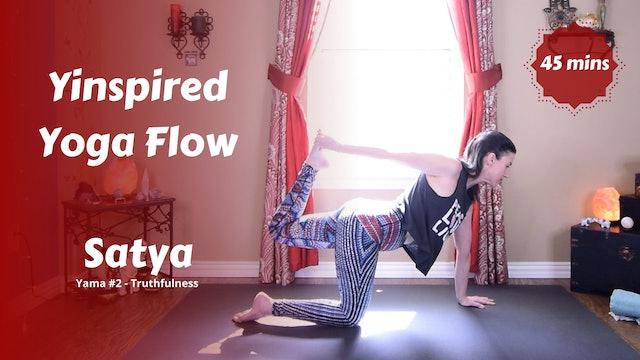 Yinspired Yoga Flow | Satya | Truthfulness