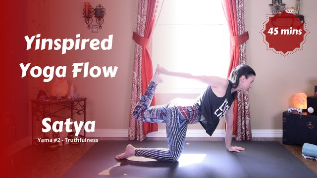 Yinspired Yoga Flow | Satya | Truthfu...