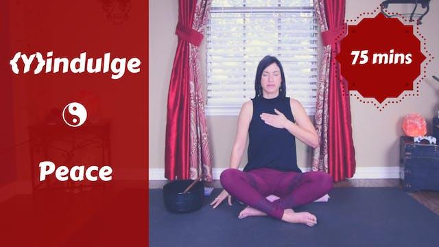 {Y}indulge Peace