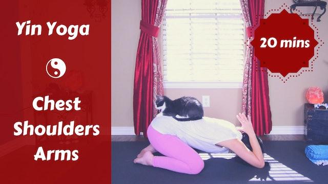 Yin Yoga Chest & Shoulder Day | Upper Body Stretch