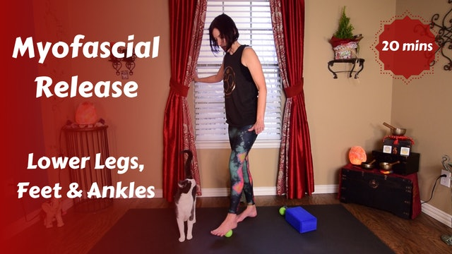 Myofascial Release for Lower Leg & Foot Pain Relief