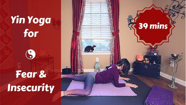 Yin Yoga for Fear & Insecurity